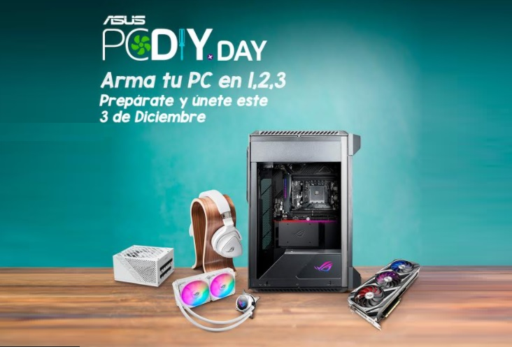 ASUS celebra su legado y a la comunidad del ensamble de PC con un día  dedicado a celebrar el Día de PC DIY (Do it Yourself) | Karlos Perú